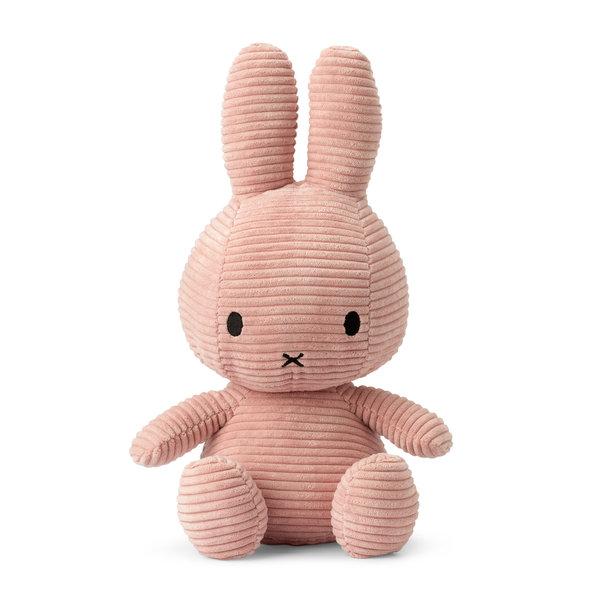 Nijntje-Miffy Corduroy knuffel roze - 33 cm