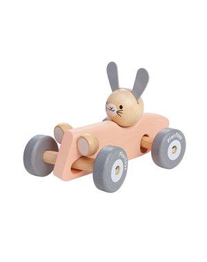 PlanToys Raceauto konijn