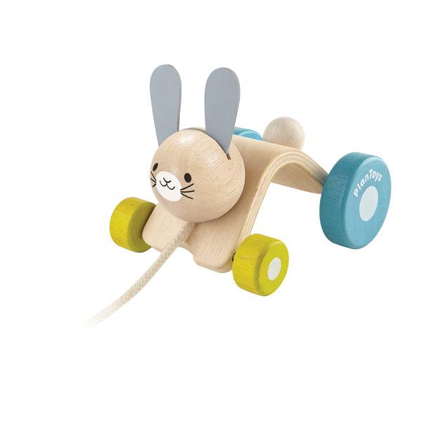 PlanToys Huppelend konijn