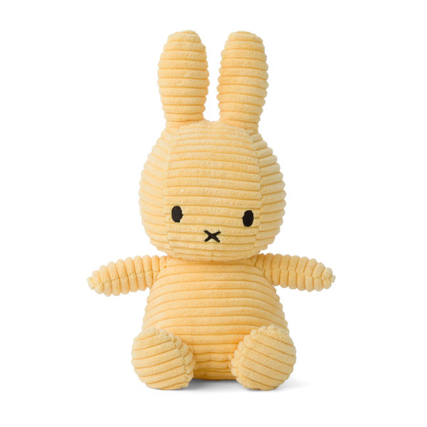 Nijntje-Miffy Corduroy knuffel Buttercream - 23 cm