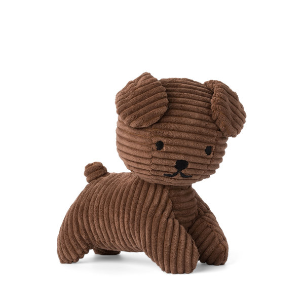 Nijntje-Miffy Snuffie Corduroy Brown - 17 cm
