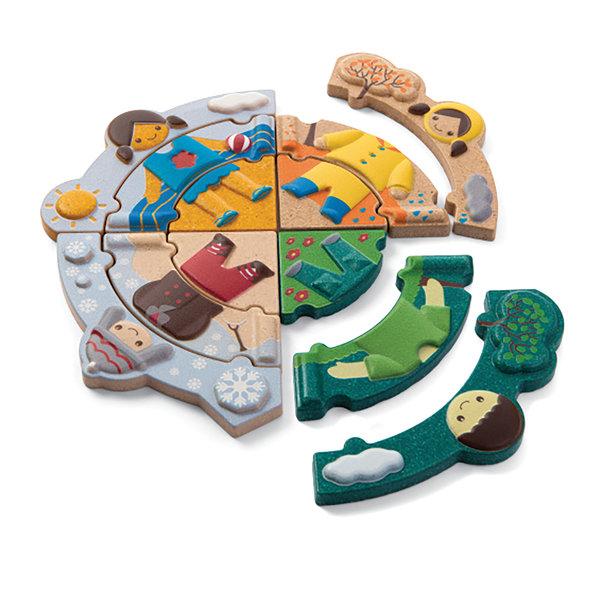 PlanToys Puzzel 4 seizoenen