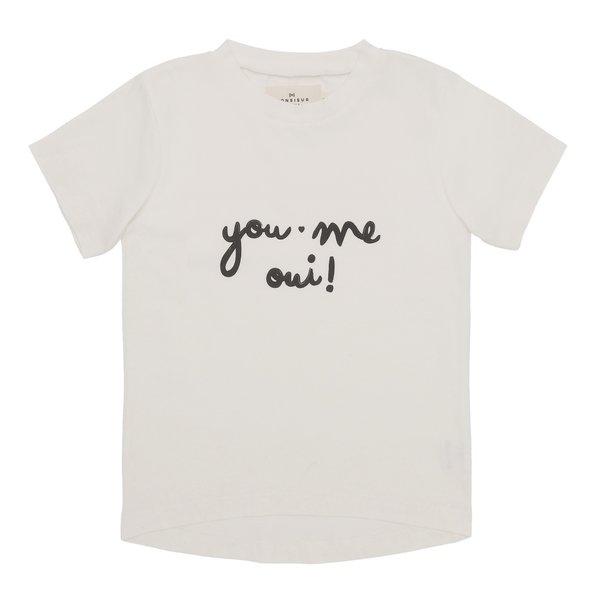 Monsieur Mini T-shirt You, Me, Oui
