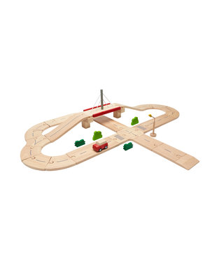 PlanToys Road System - Deluxe