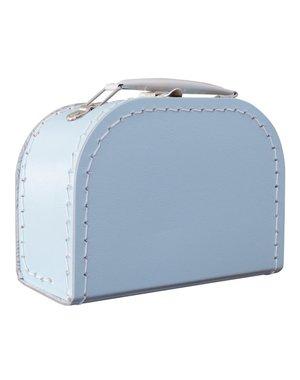 Kinderkoffertjes Koffertje lichtblauw - 16 cm