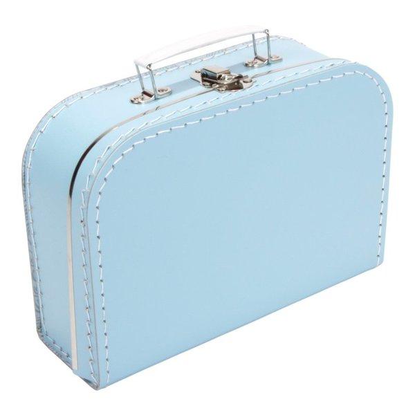 Kinderkoffertjes Koffertje lichtblauw - 20 cm