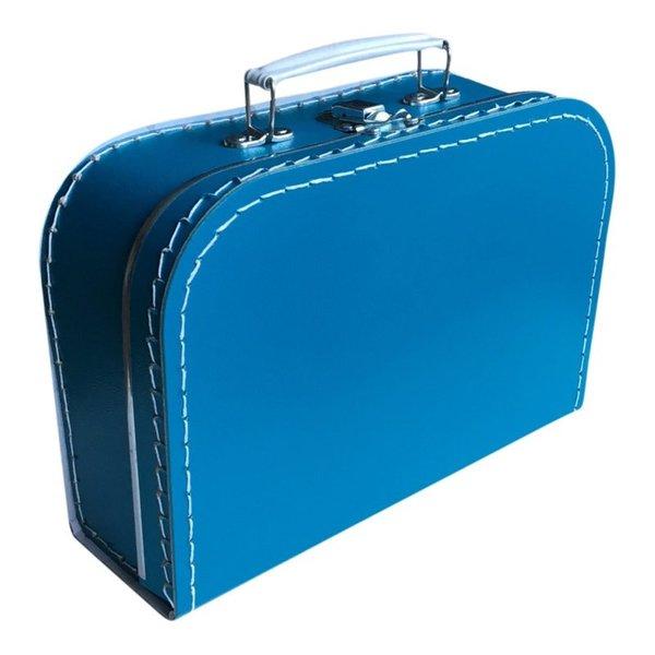 Kinderkoffertjes Koffertje petrol - 25 cm