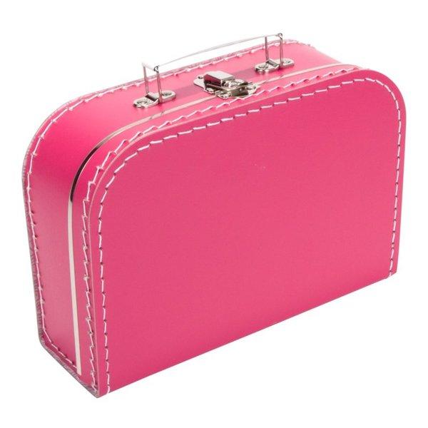 Kinderkoffertjes Koffertje fuchsia roze - 25 cm