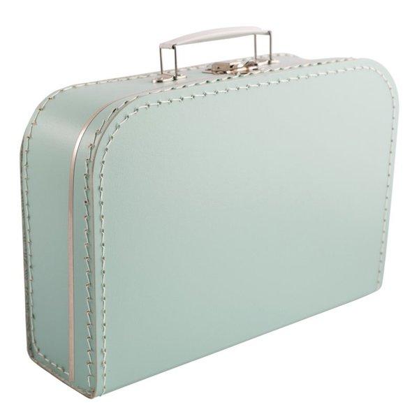 Kinderkoffertjes Koffertje mintgroen - 25 cm
