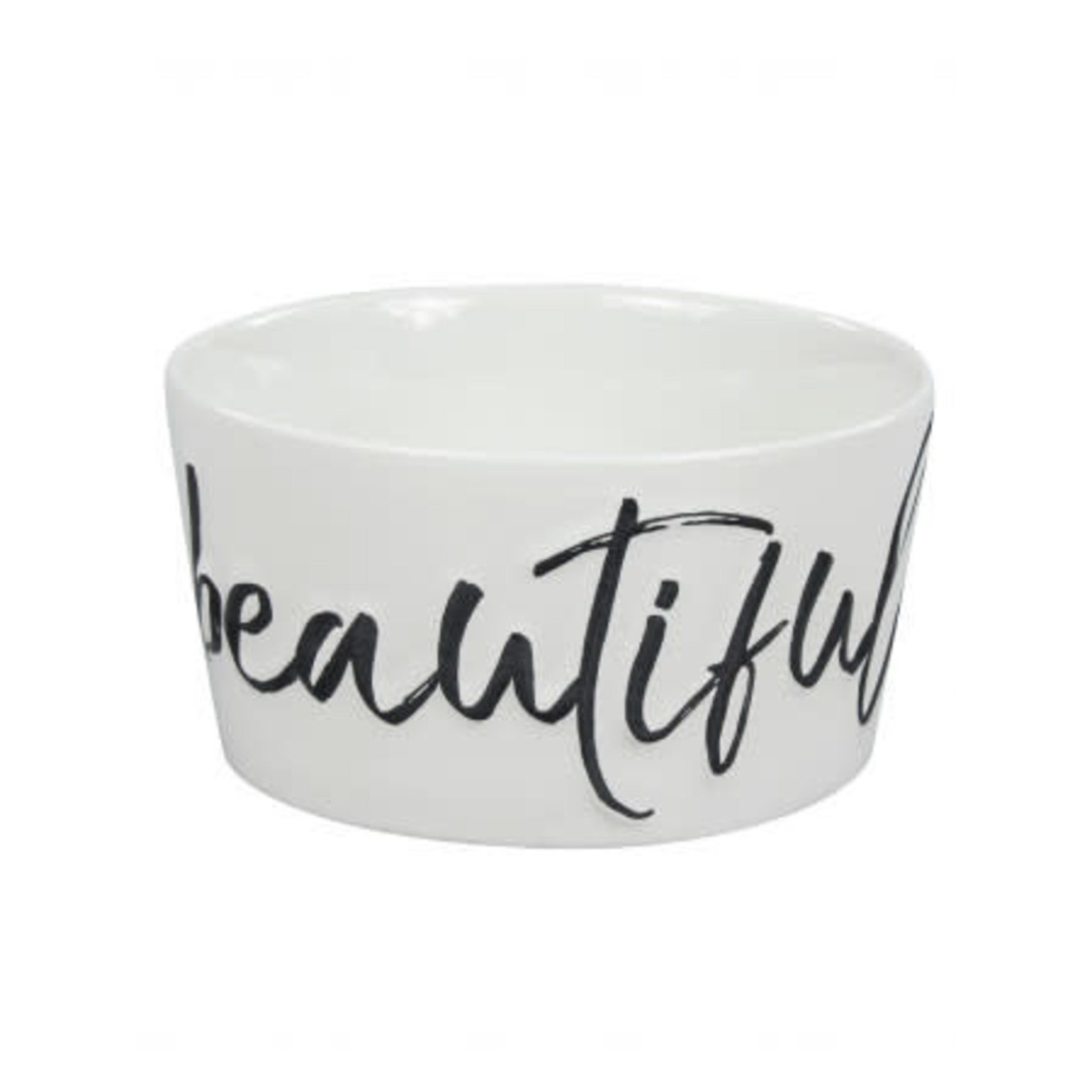 Bastion Collections Bowl large Beautiful Morning in Black