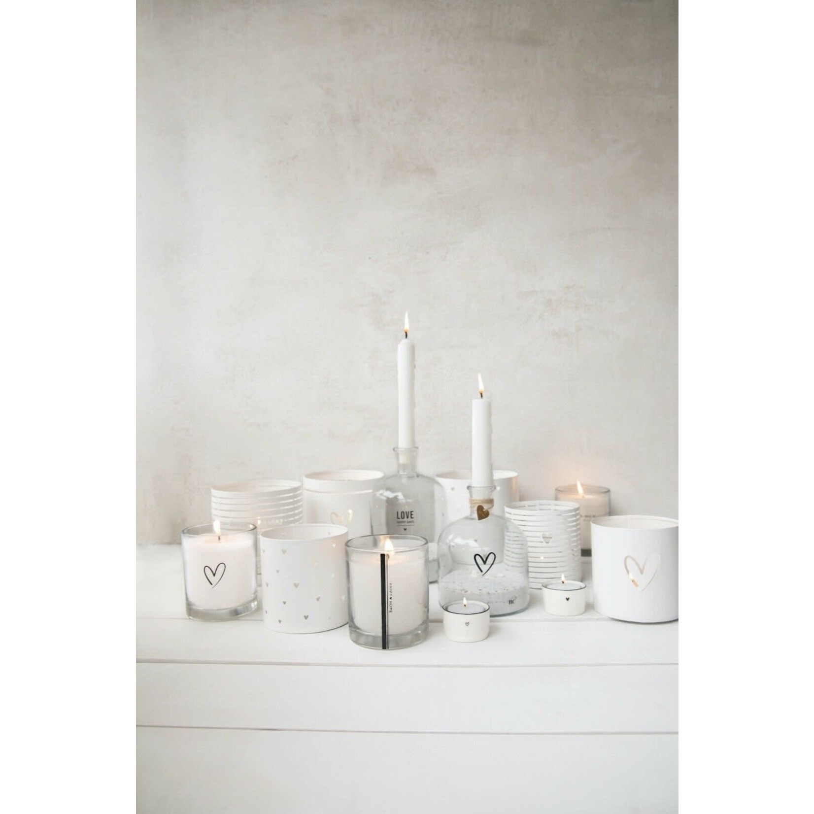 Bastion Collections Candle in Glass Happy Home