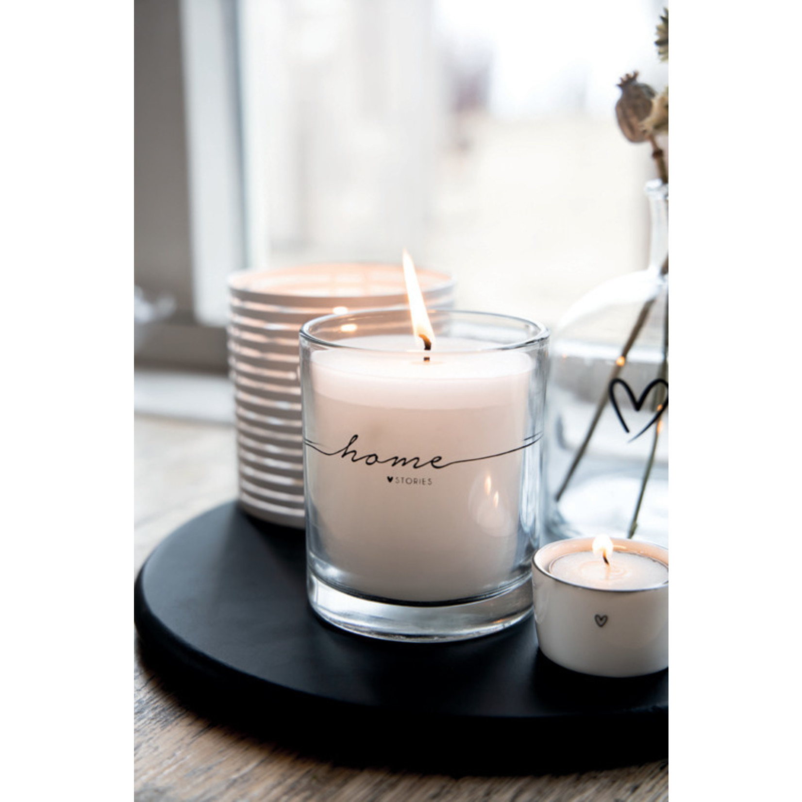 Bastion Collections Candle in Glass Home Stories
