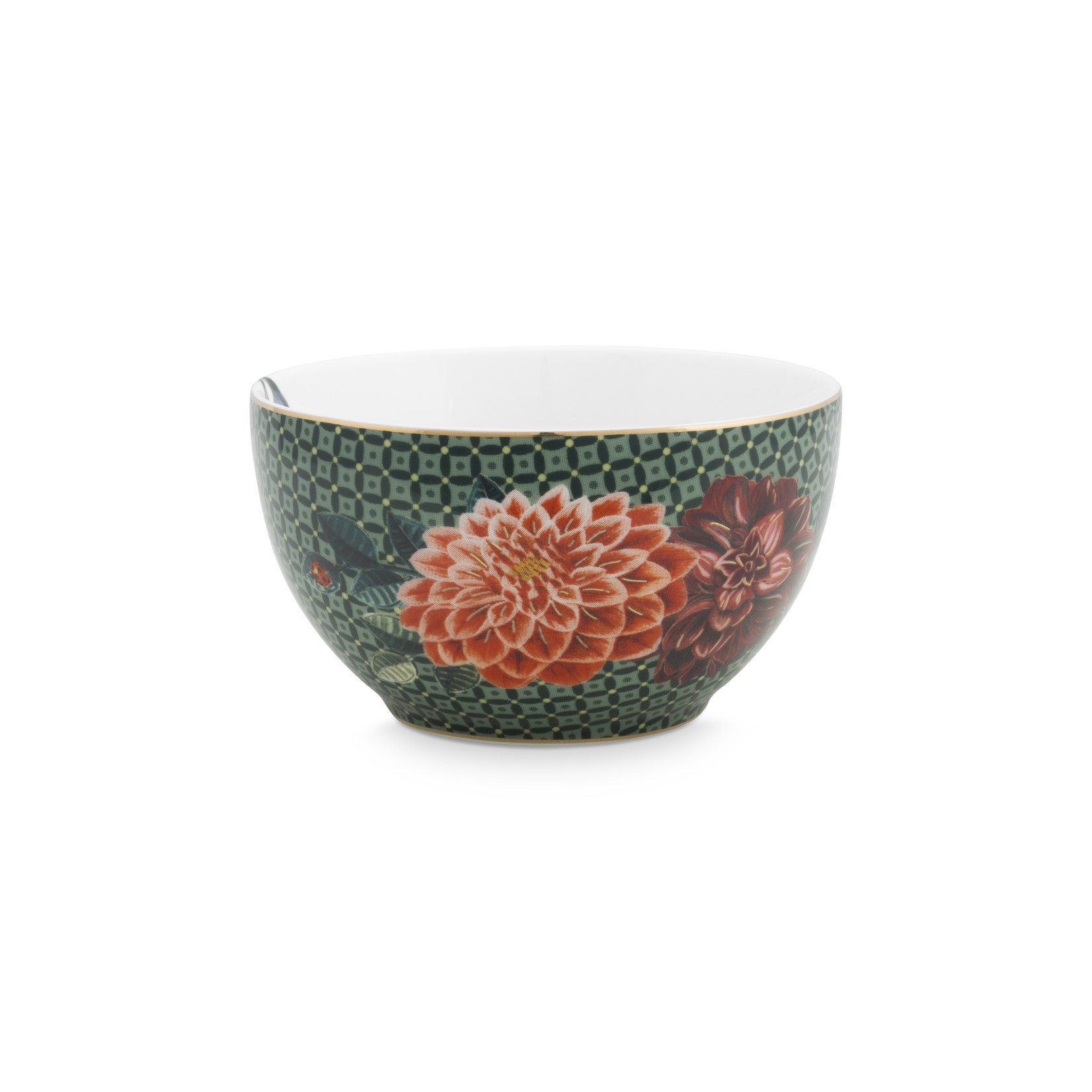 PIP Studio Bowl Winter Wonderland Green 9.5cm