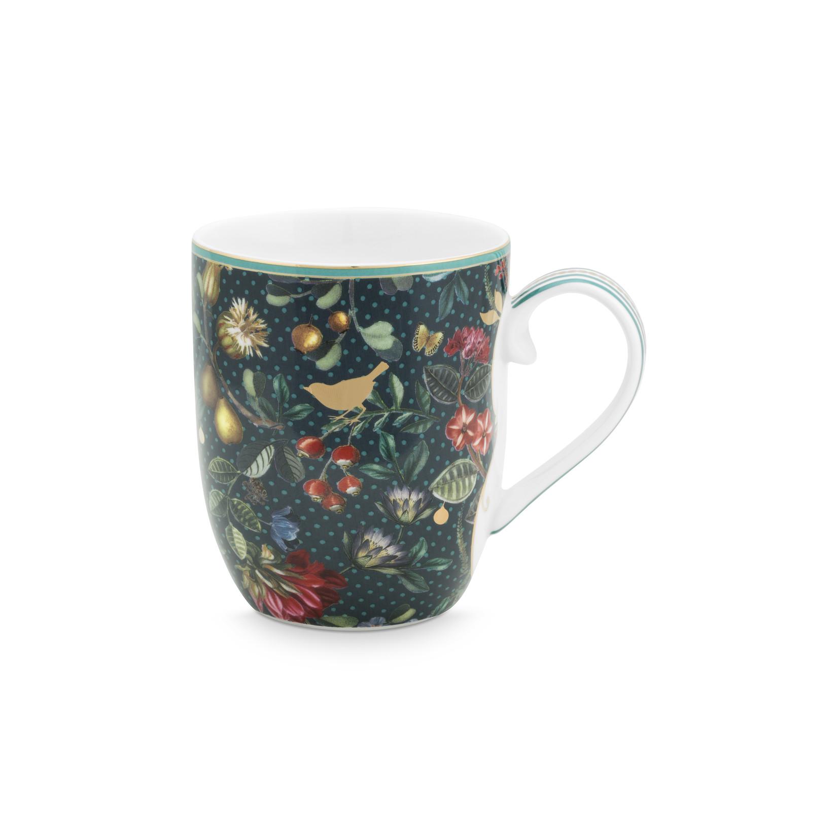 PIP Studio Mug Small / Senseo mokje Winter Wonderland Bird Green 145ml