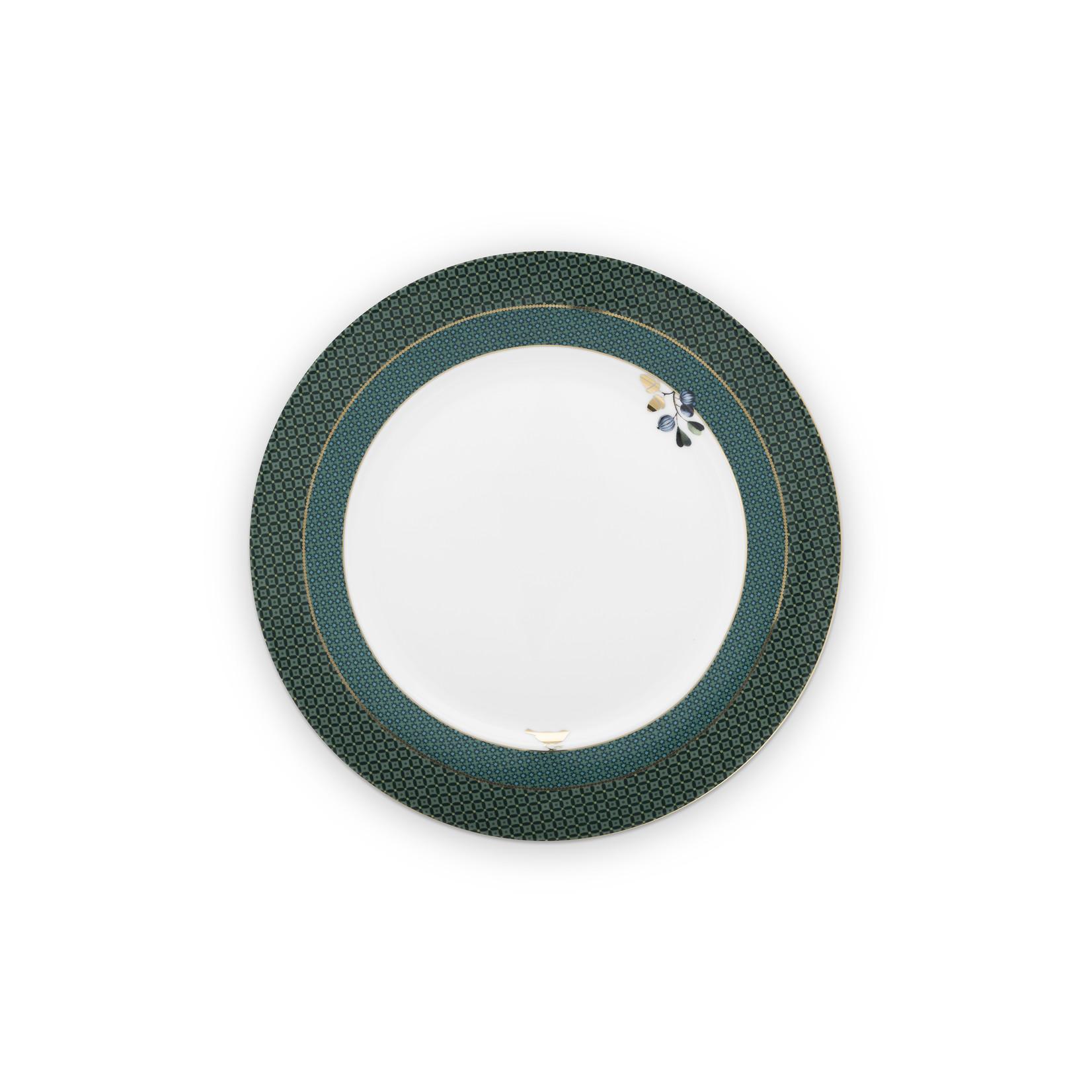 PIP Studio Plate Winter Wonderland Green 26.5cm