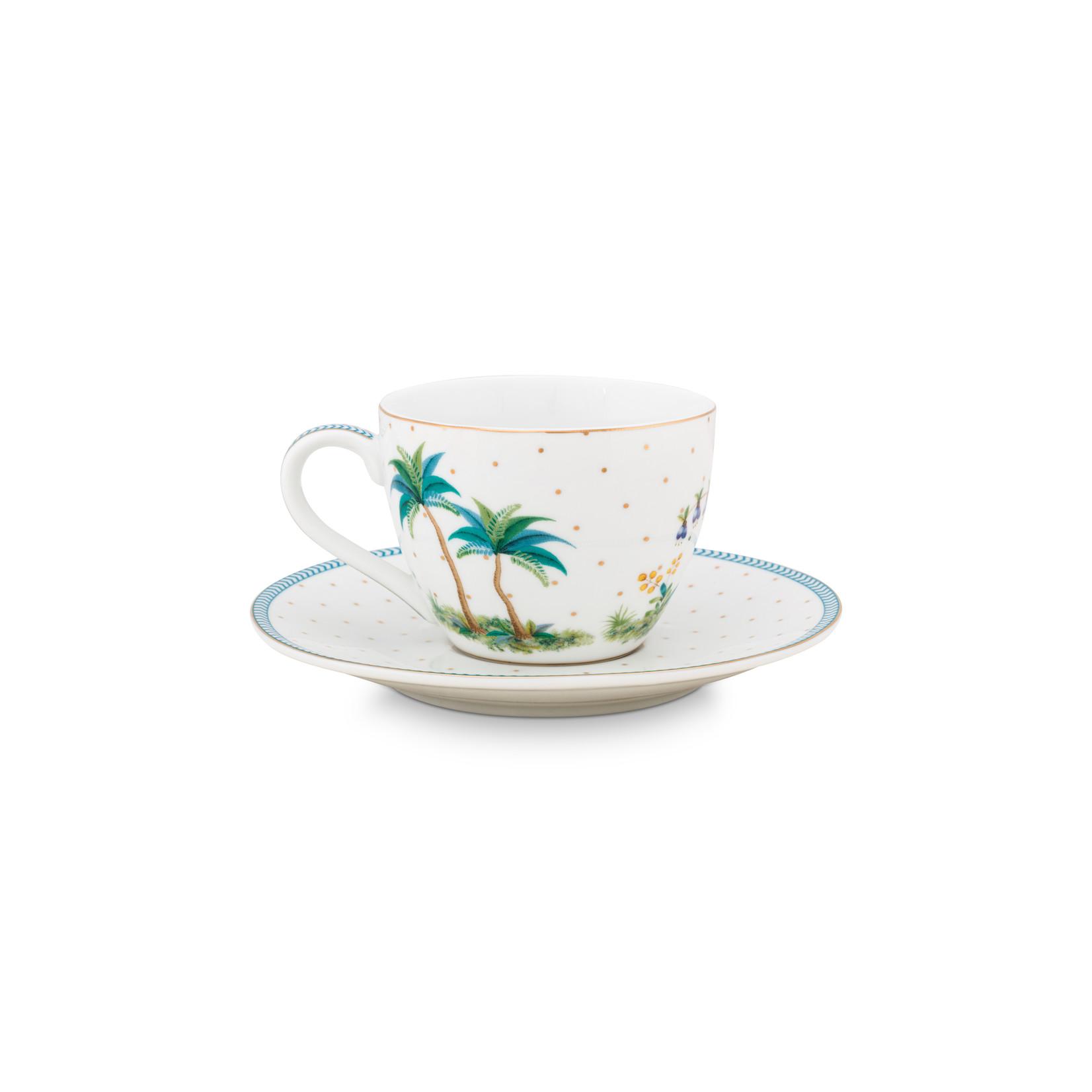 PIP Studio Espresso Cup & Saucer Jolie Dots Gold 120ml