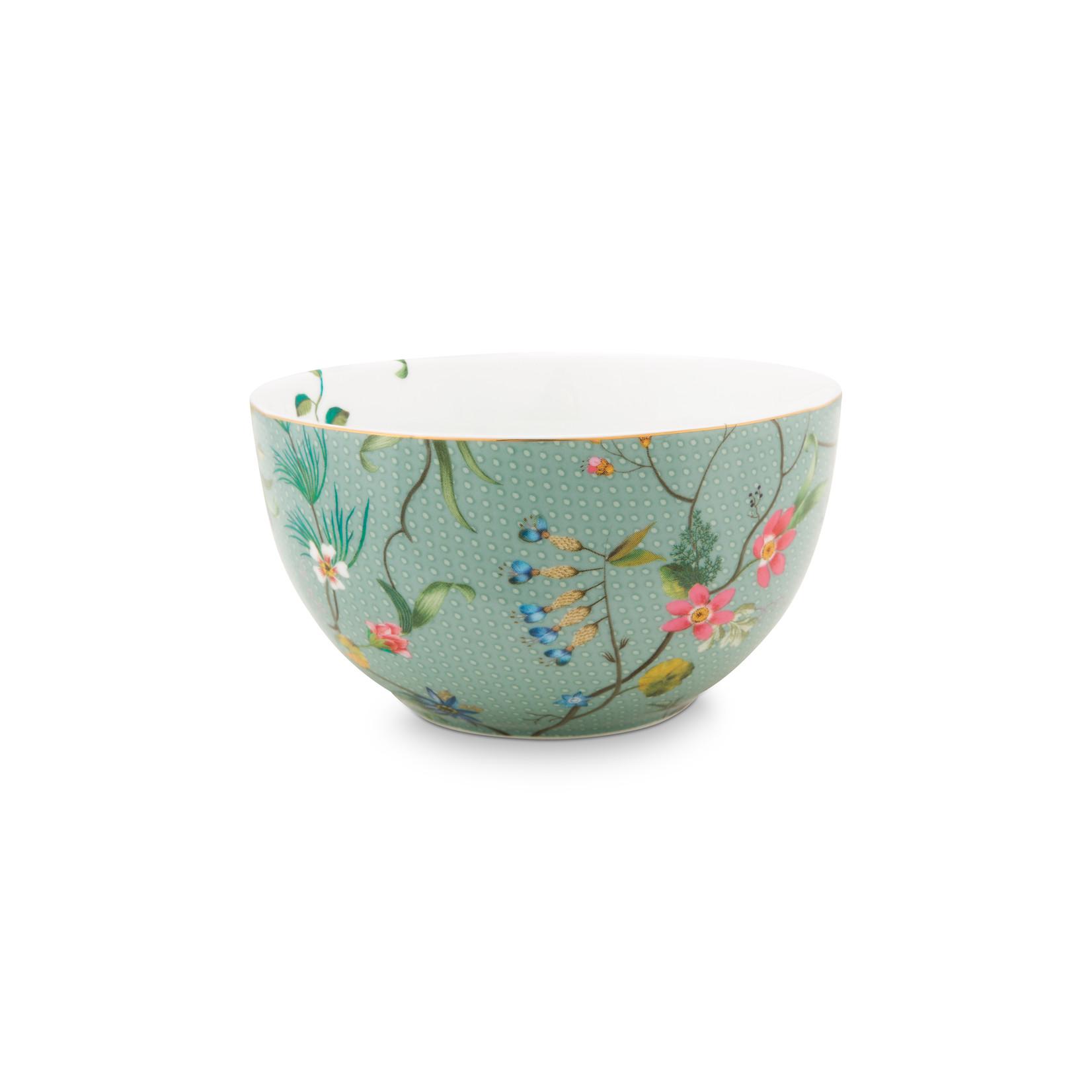 PIP Studio Bowl Jolie Flowers Blue 12cm