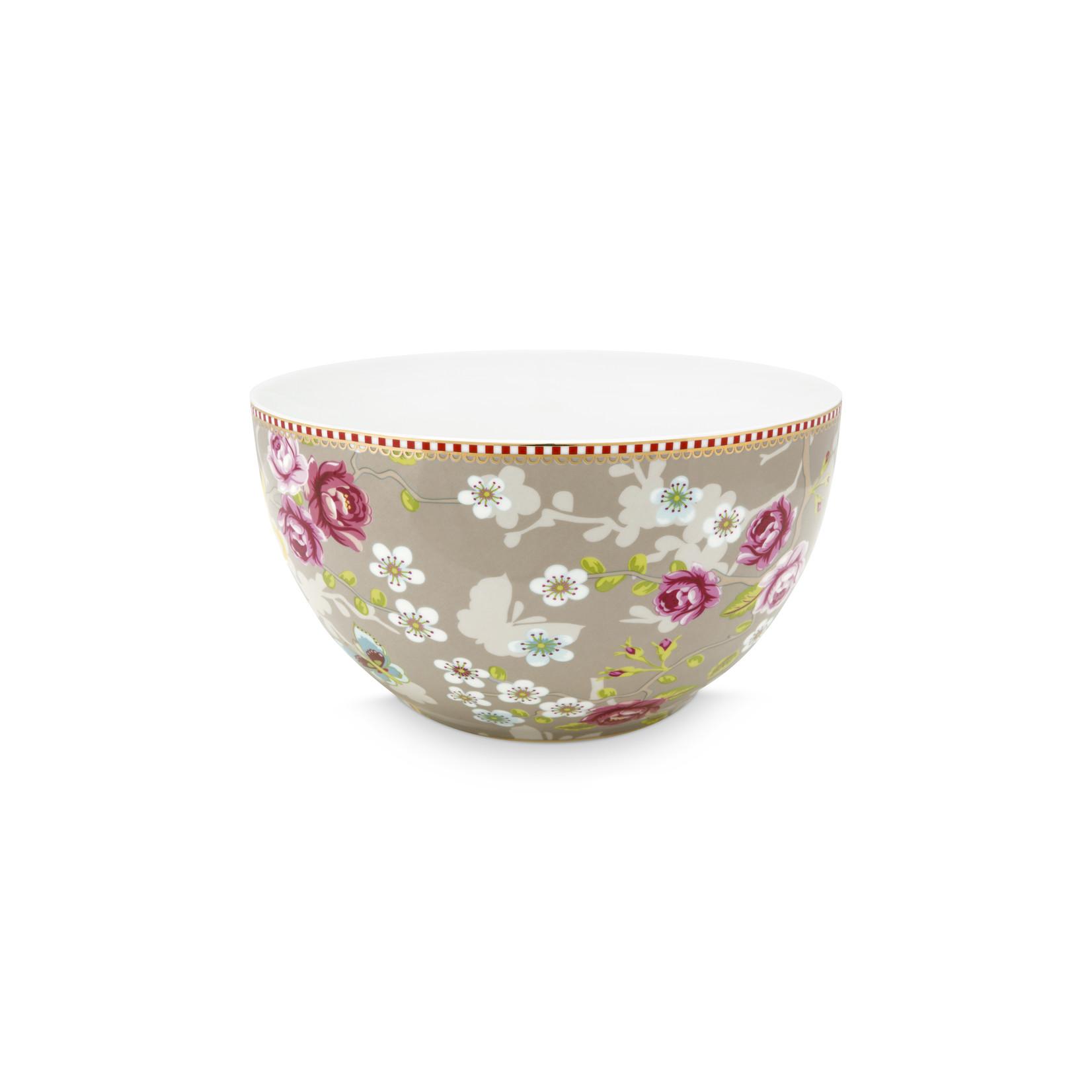 PIP Studio Bowl Chinese Rose Khaki 18cm