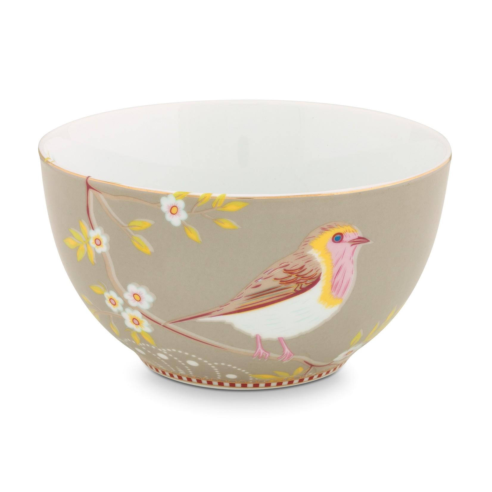 PIP Studio Bowl Early Bird Khaki 15cm