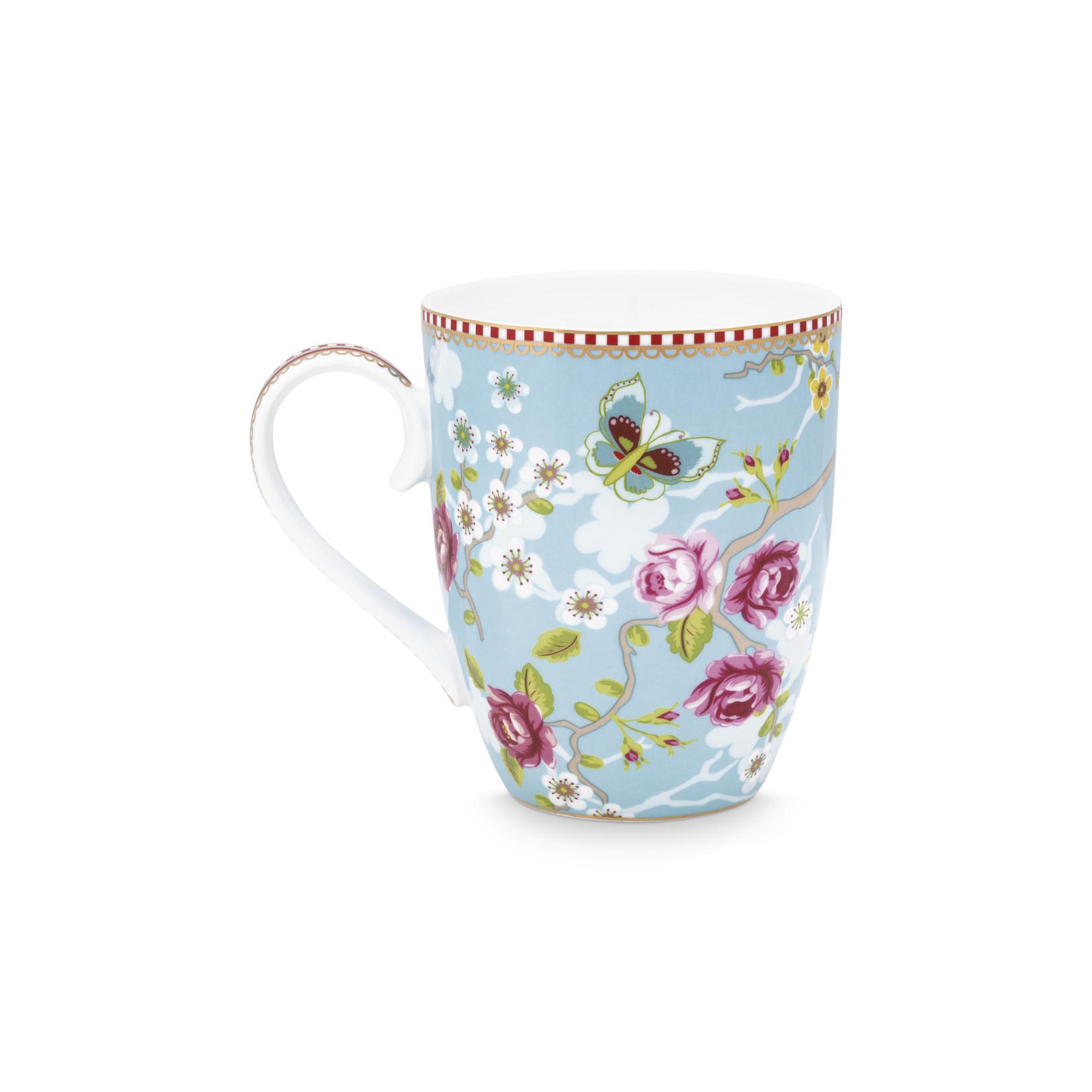 PIP Studio Mug Large Chinese Rose Blue 350ml