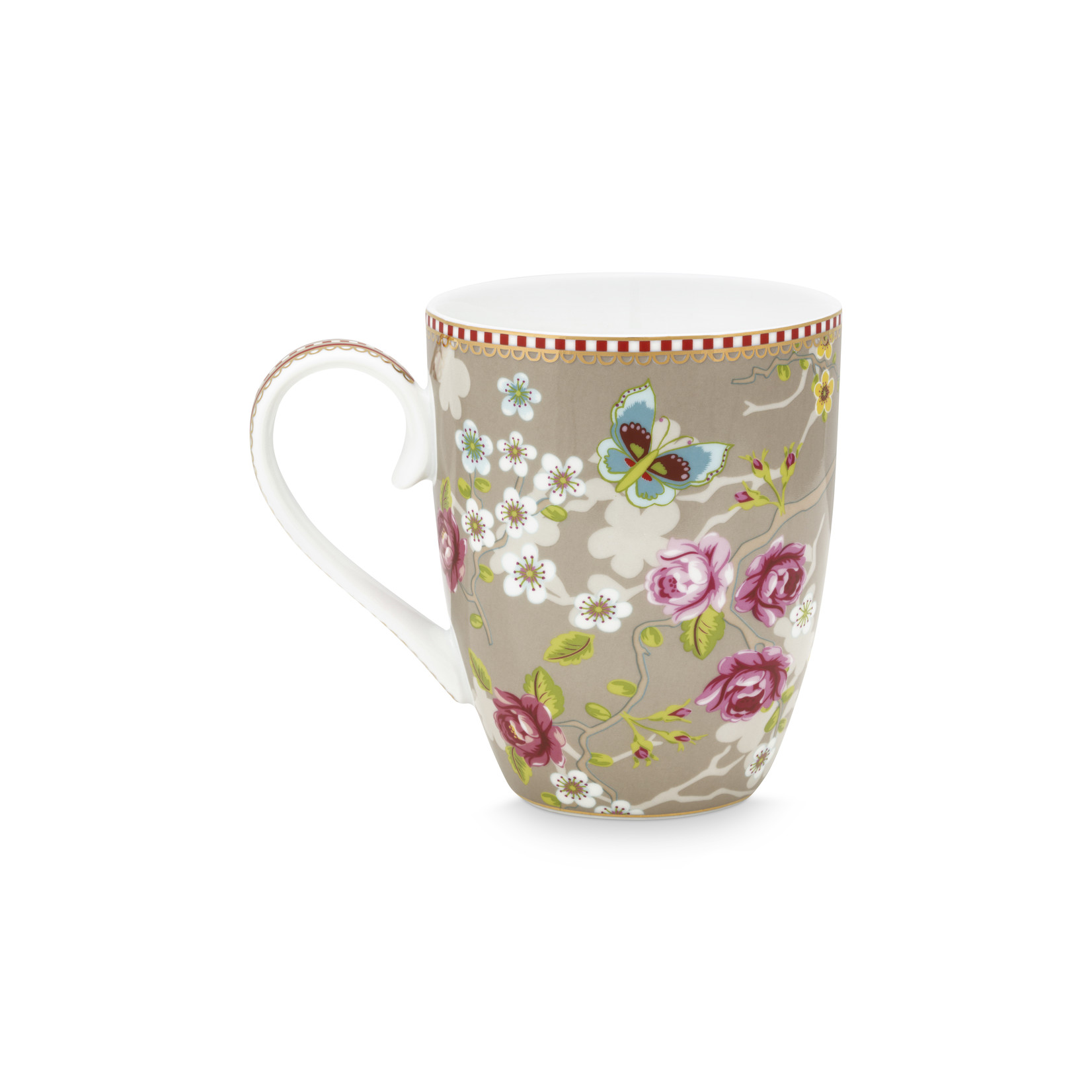 PIP Studio Mug Large Chinese Rose Khaki 350ml
