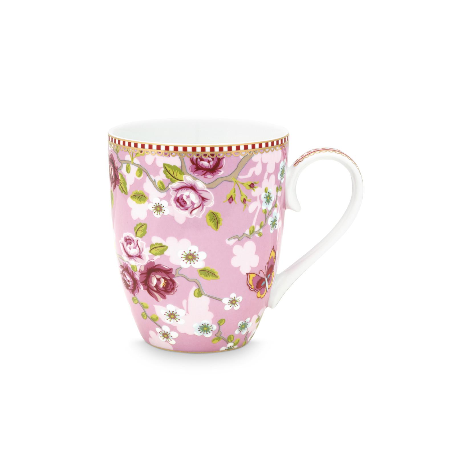 PIP Studio Mug Large Chinese Rose Pink 350ml