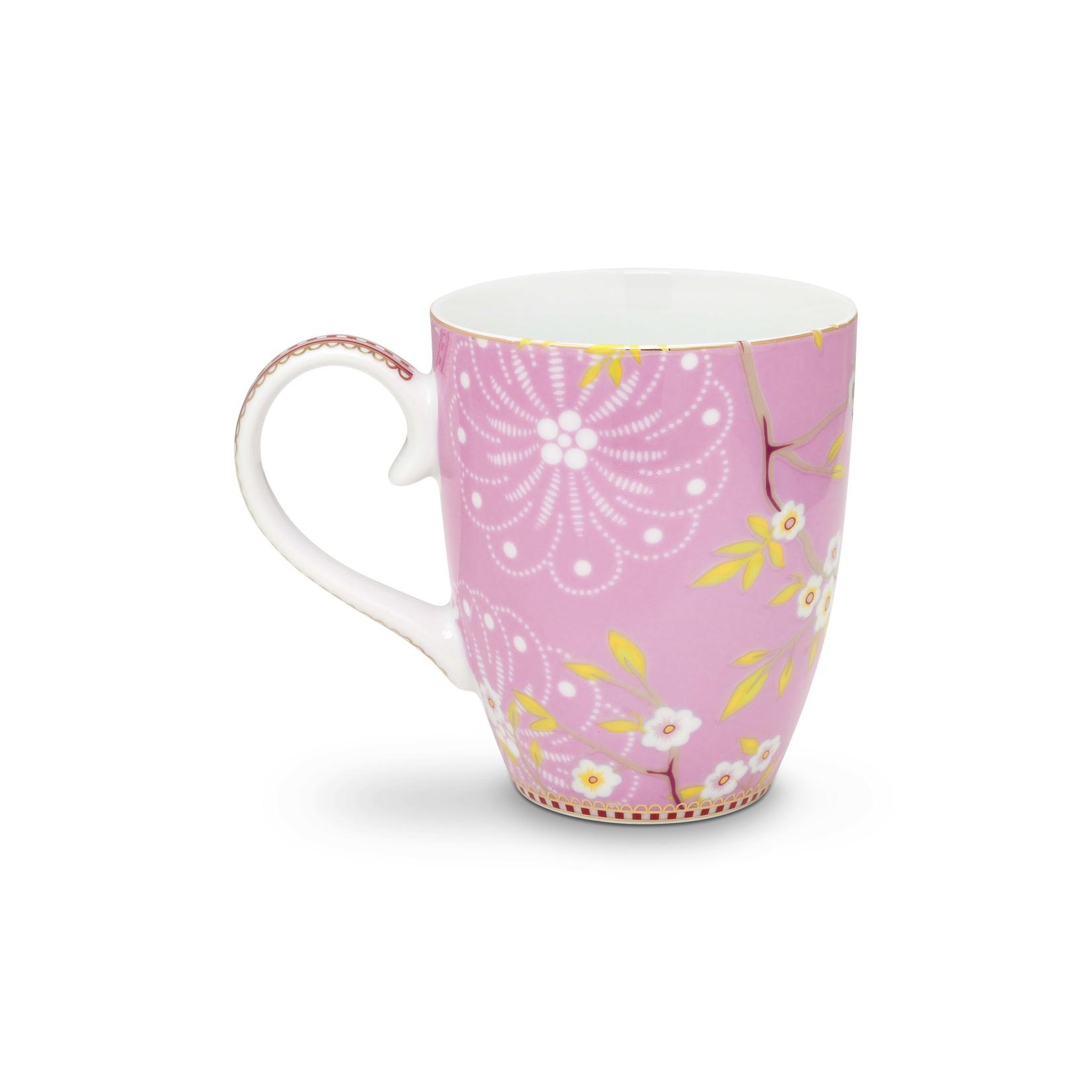 PIP Studio Mug Large Early Bird Pink 350ml