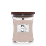 WoodWick WW Vanilla & Sea Salt Medium Candle