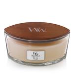 WoodWick WW White Honey Ellipse Candle
