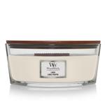 WoodWick WW Linen Ellipse Candle