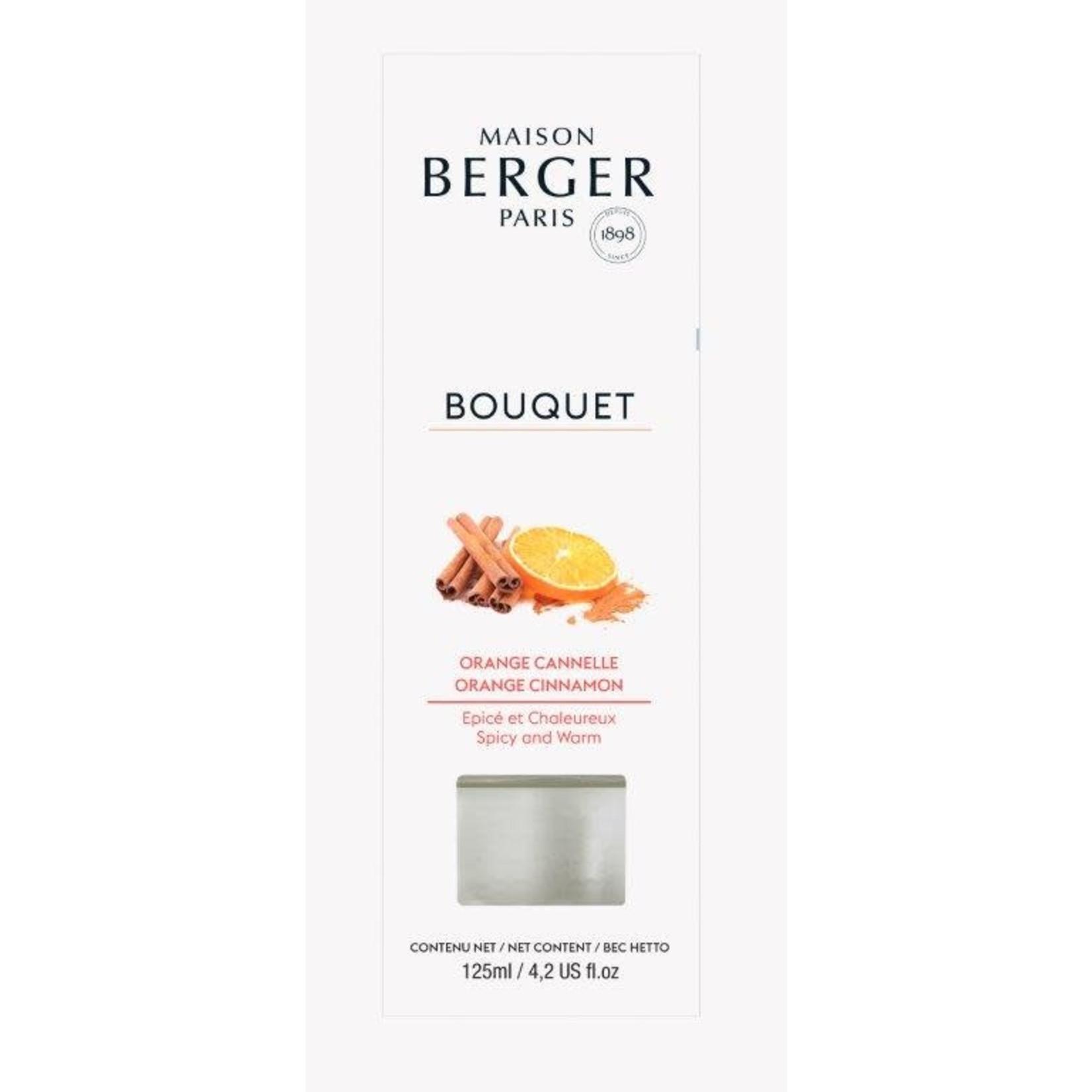 Lampe Berger Parfumverspreider met sticks Cube 125ml Orange de Cannelle