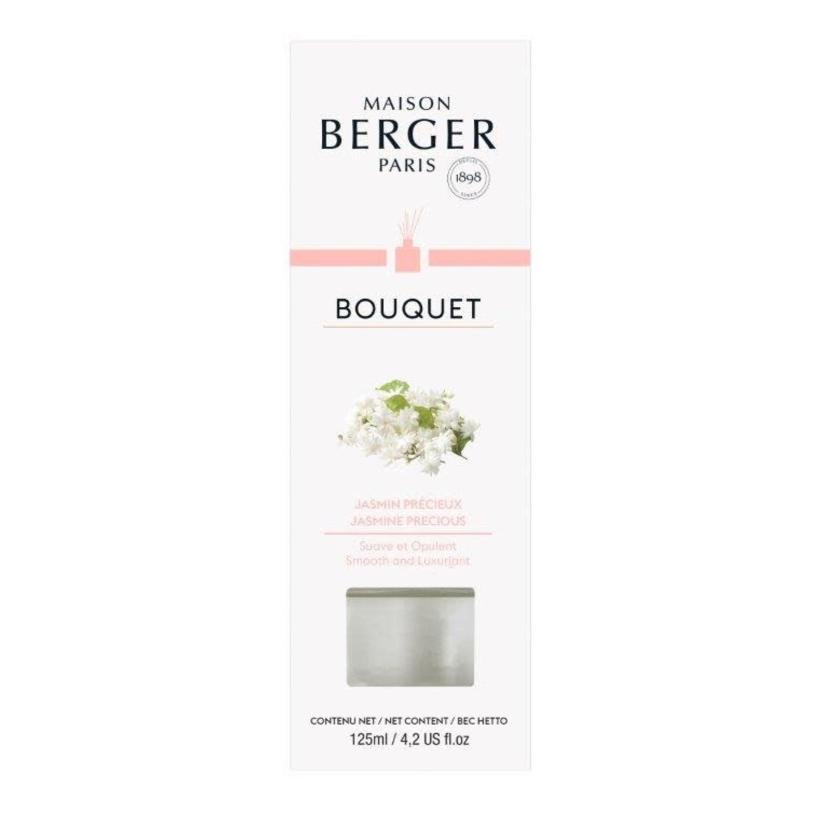 Lampe Berger Parfumverspreider met sticks Cube 125ml Jasmin Précieux