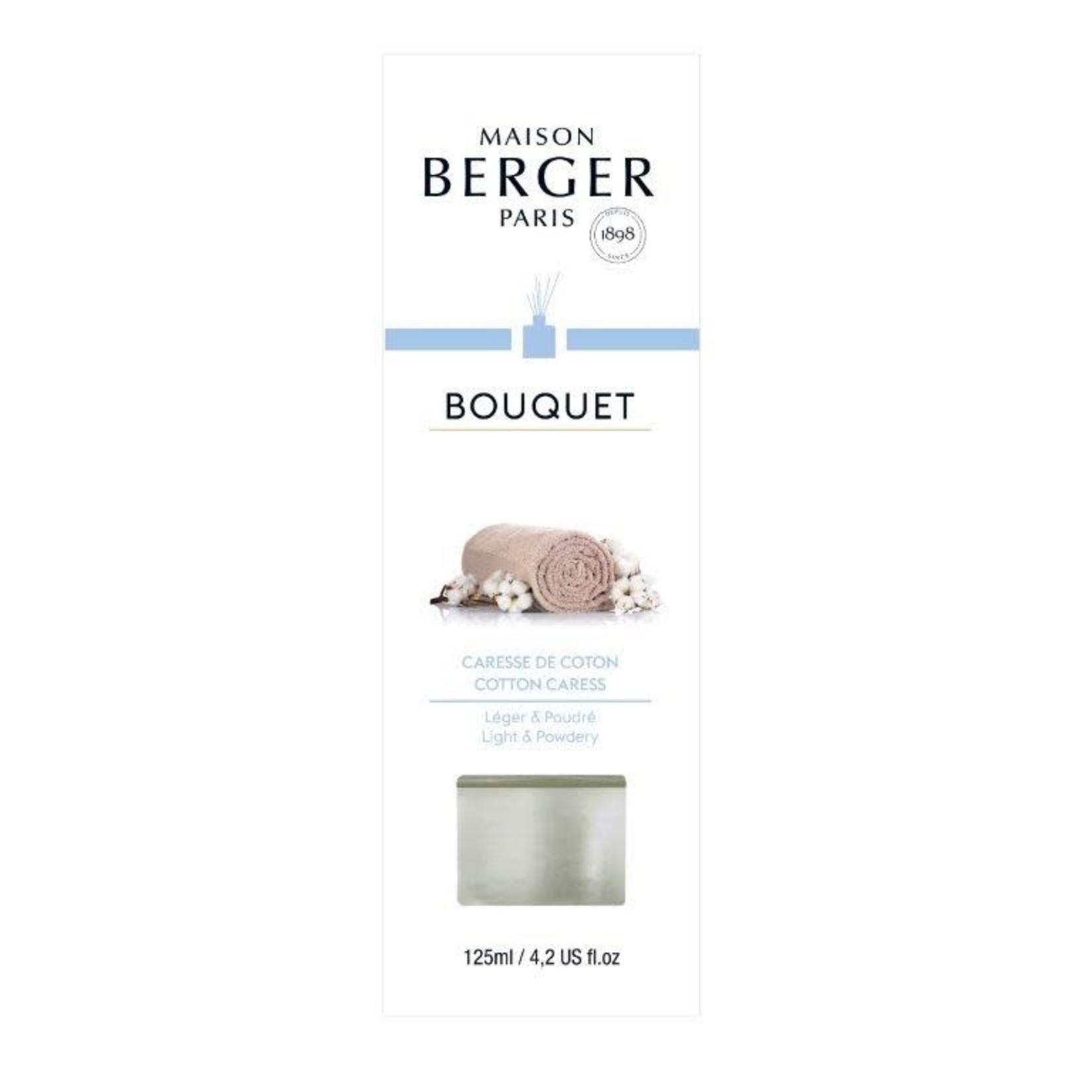 Lampe Berger Parfumverspreider met sticks Cube 125ml Caresse de coton