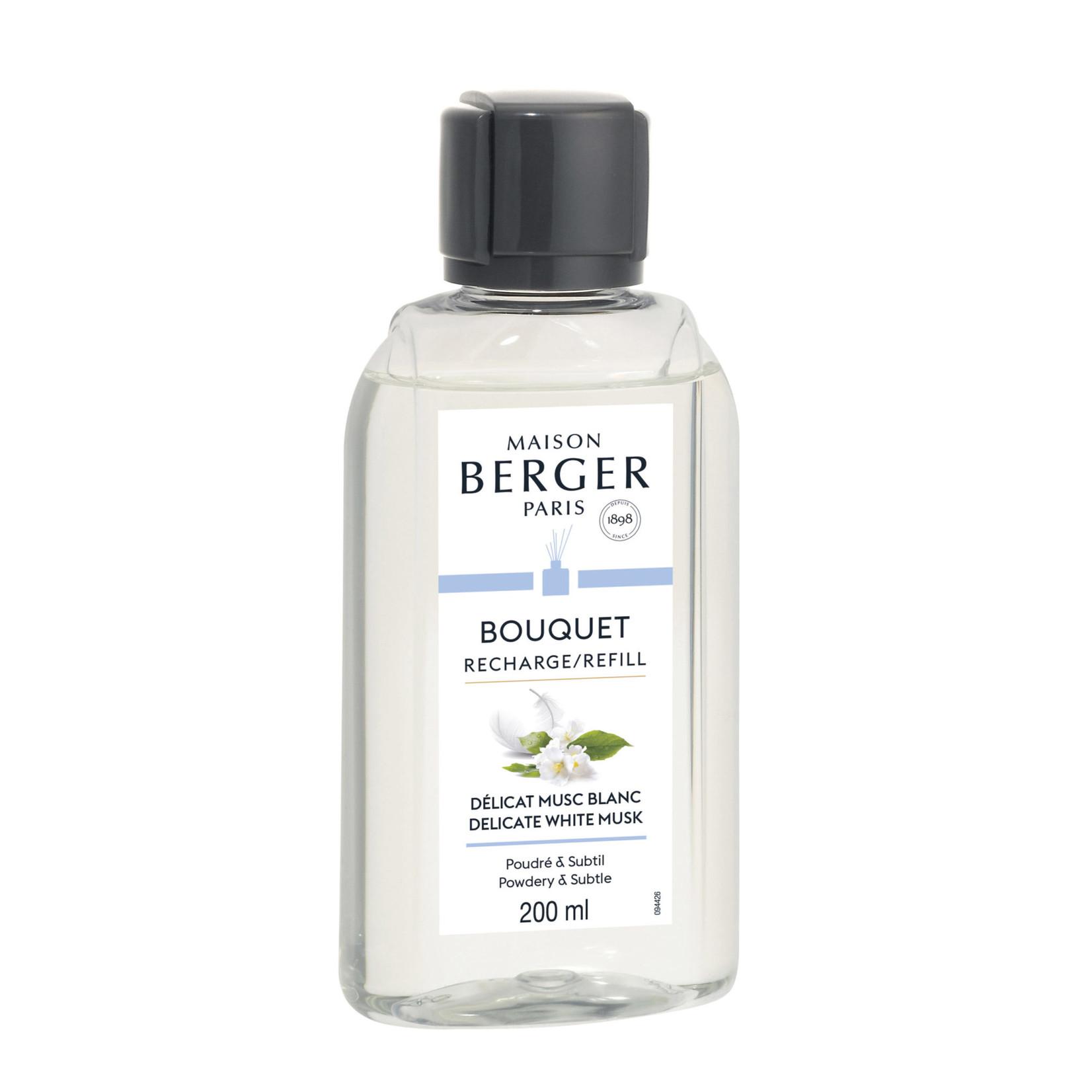 Lampe Berger Navulling parfumverspreider 200ml Délicat Musc Blanc