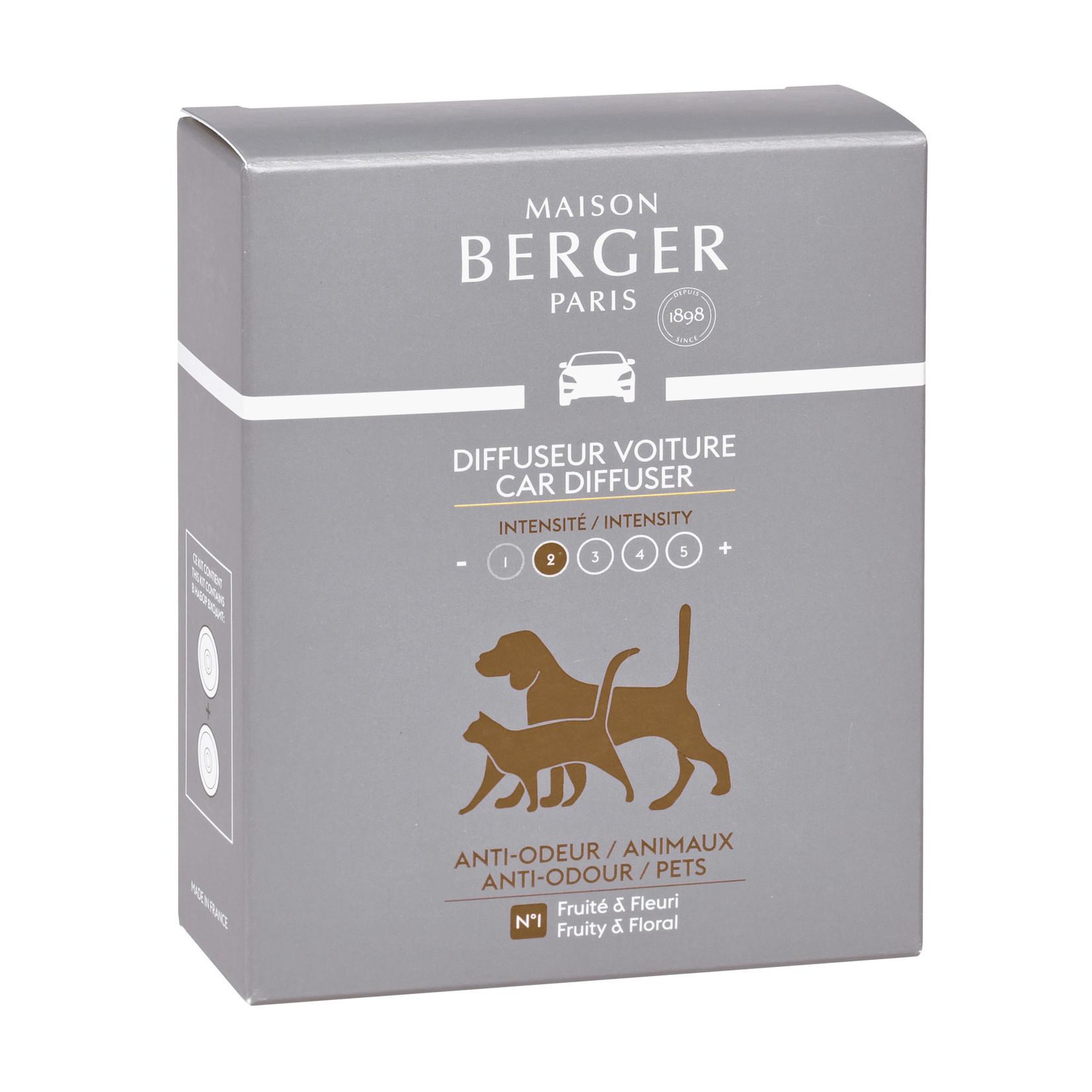 Lampe Berger Autoparfum navulling 2 stuks Anti mauvaises odeurs animaux