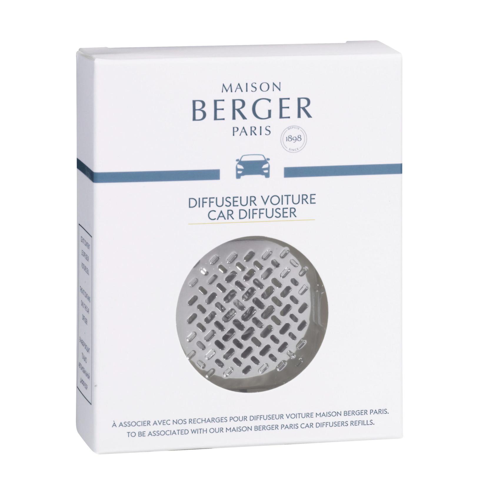 Lampe Berger Lampe Berger Diffuser autoparfum Graphic nickel mat