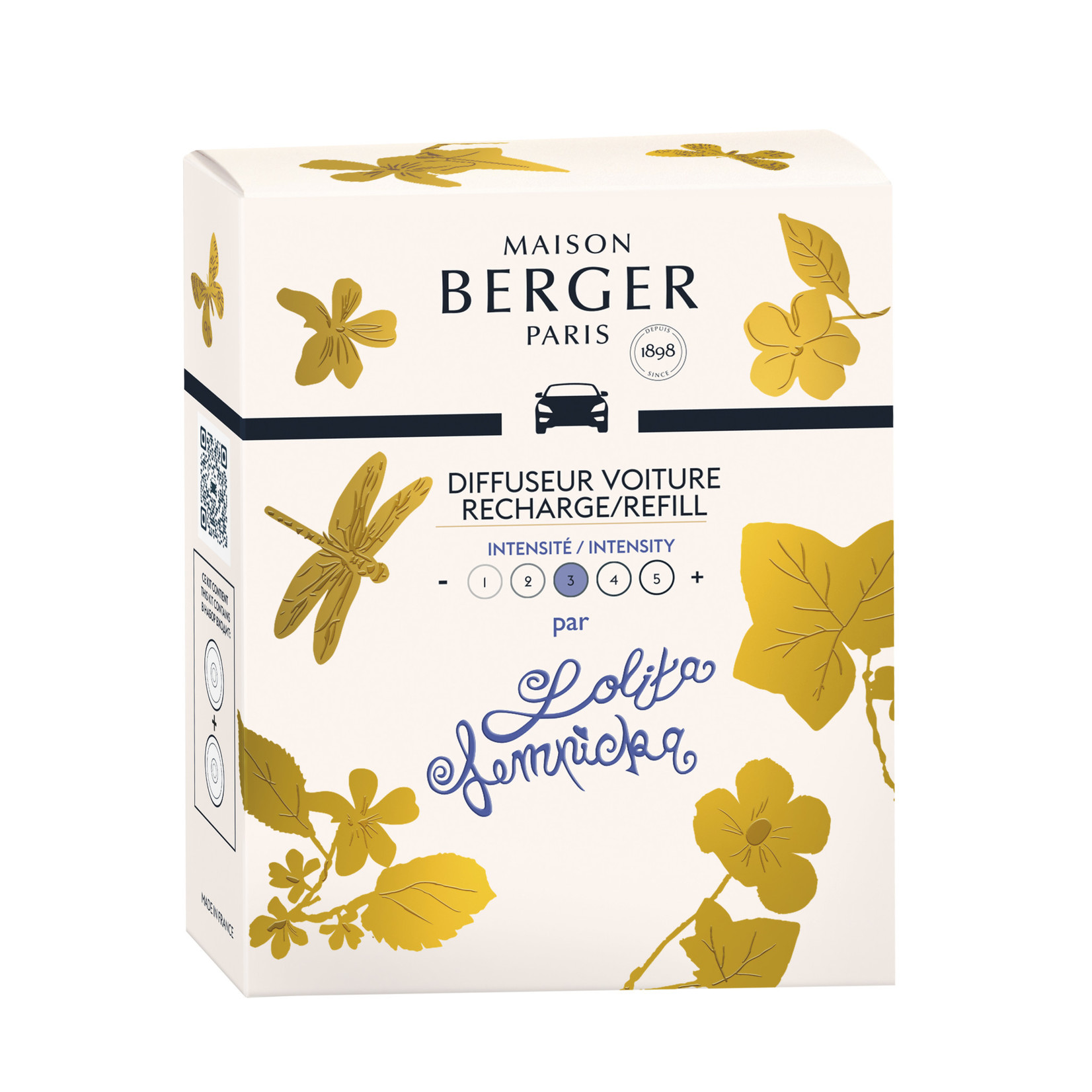 Lampe Berger Autoparfum navulling 2 stuks Lolita Lempicka