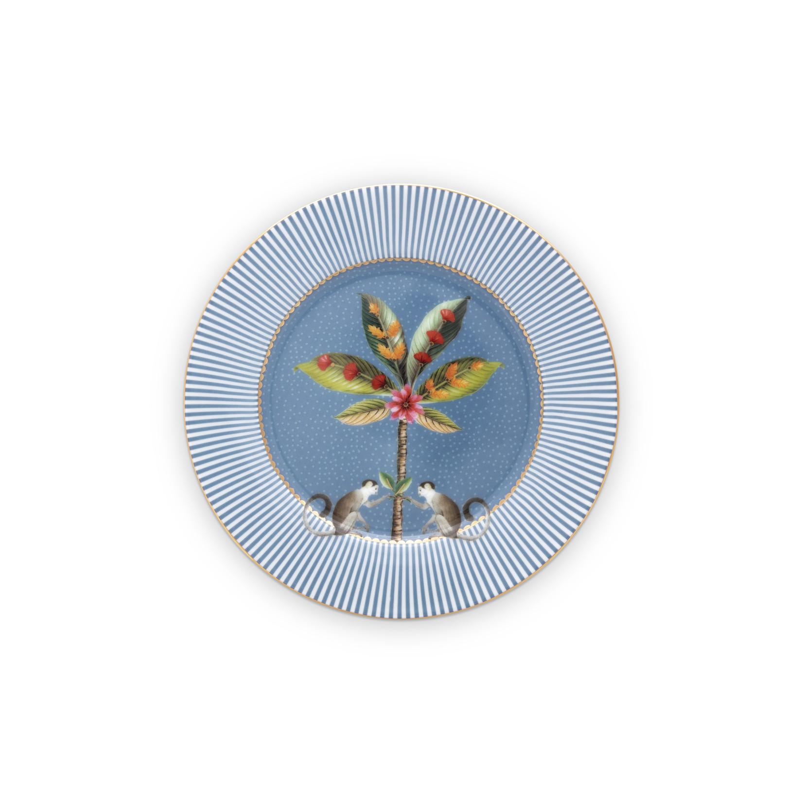 PIP Studio Plate / Gebaksbordje La Majorelle Blue 17cm