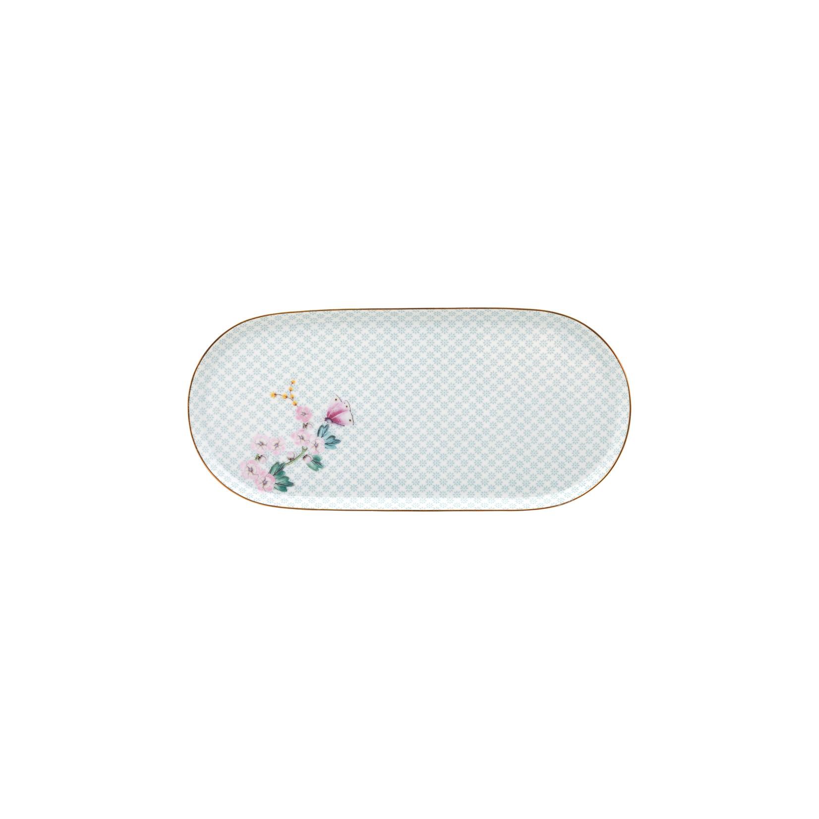 PIP Studio Plate Sugar & Creamer Kamini White 25x12cm