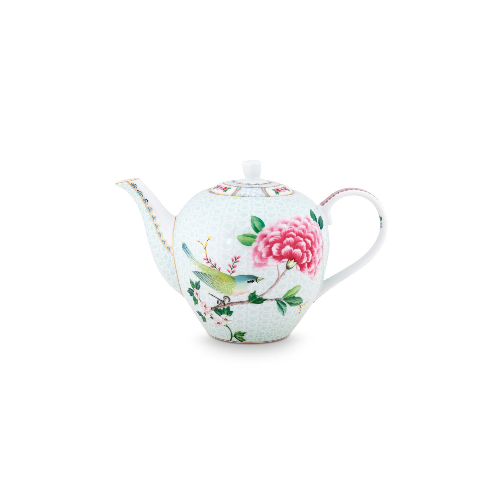 PIP Studio Tea Pot Large Blushing Birds White 1.6ltr