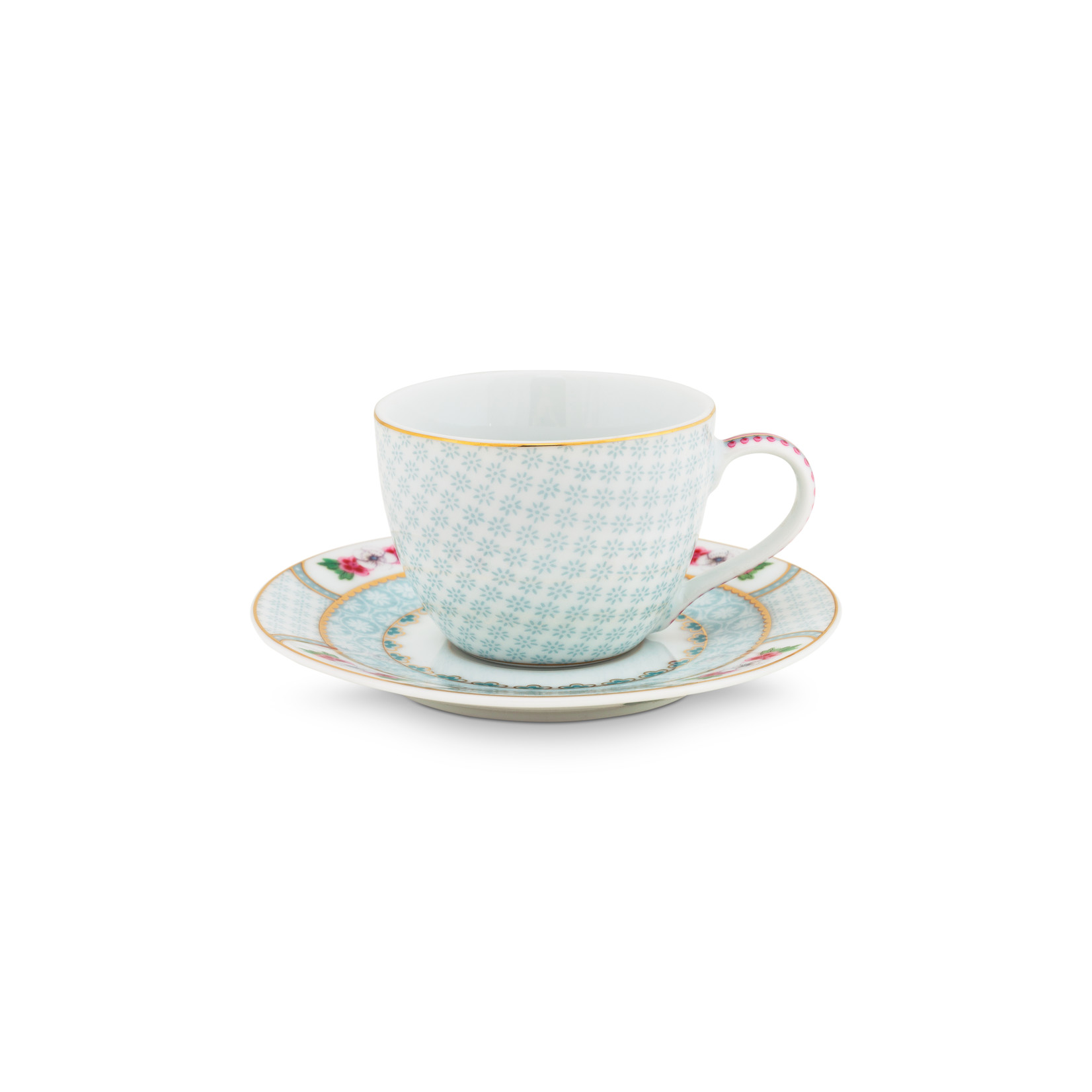 PIP Studio Espresso Cup & Saucer Blushing Birds White 120ml