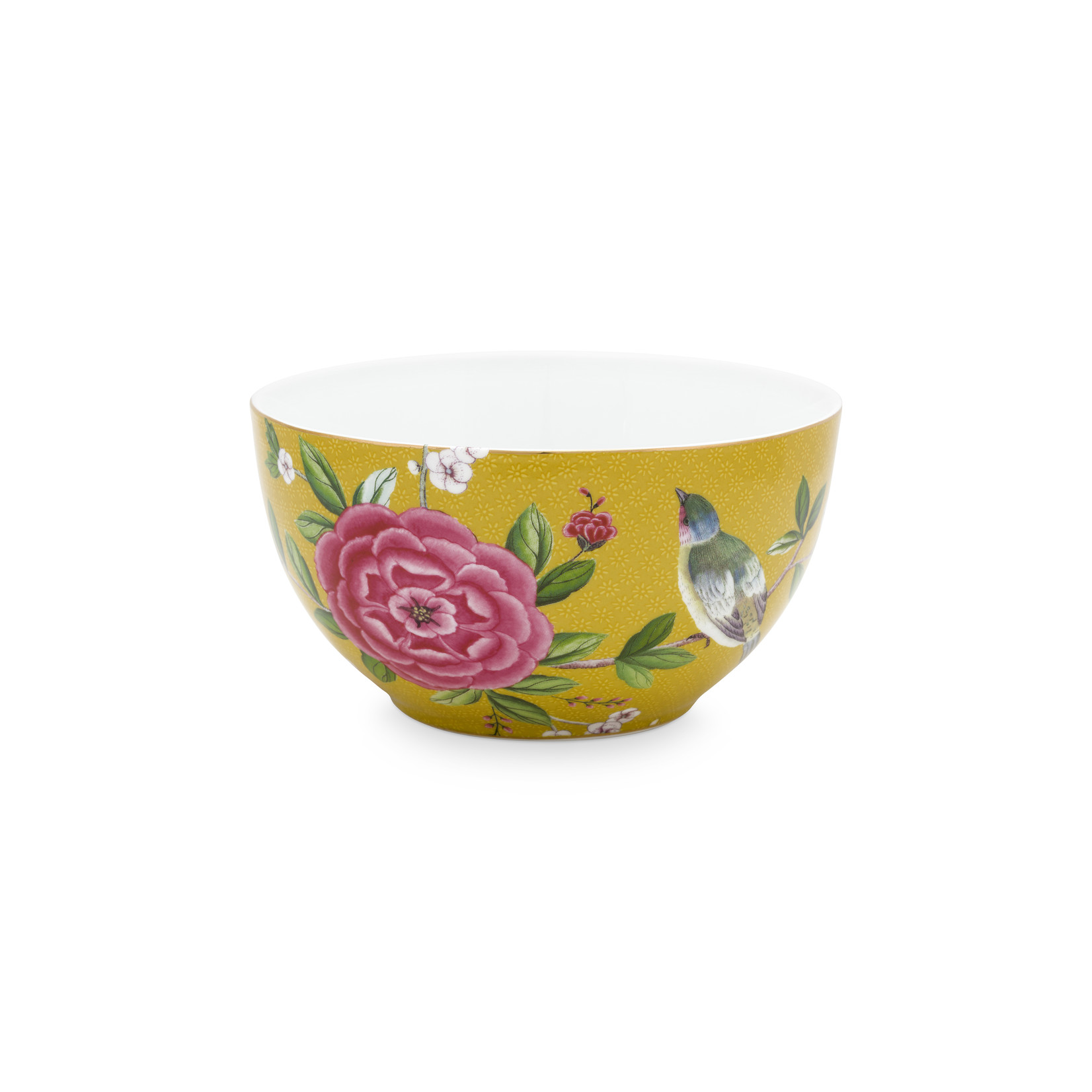 PIP Studio Bowl Blushing Birds Yellow 15cm