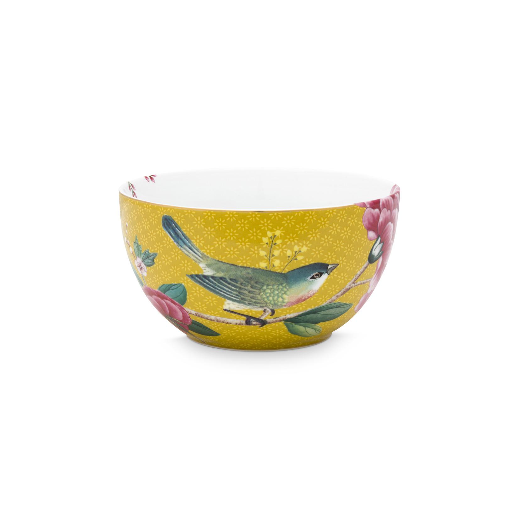 PIP Studio Bowl Blushing Birds Yellow 12cm