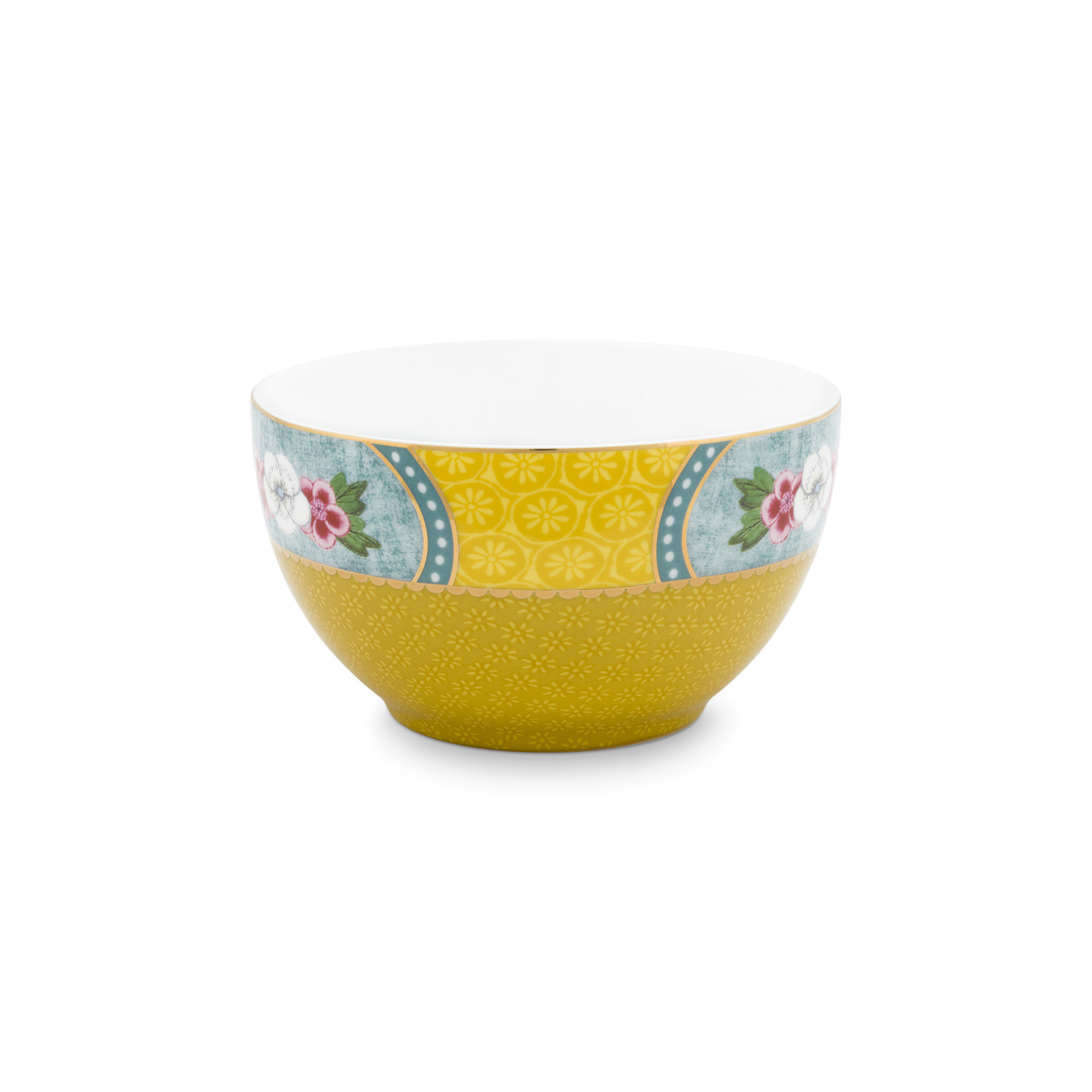PIP Studio Bowl Blushing Birds Star Flower Yellow 9.5cm