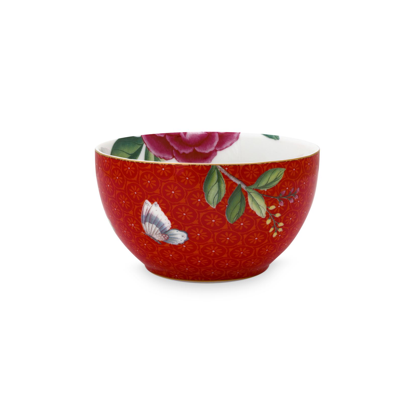 PIP Studio Bowl Blushing Birds Red 9.5cm