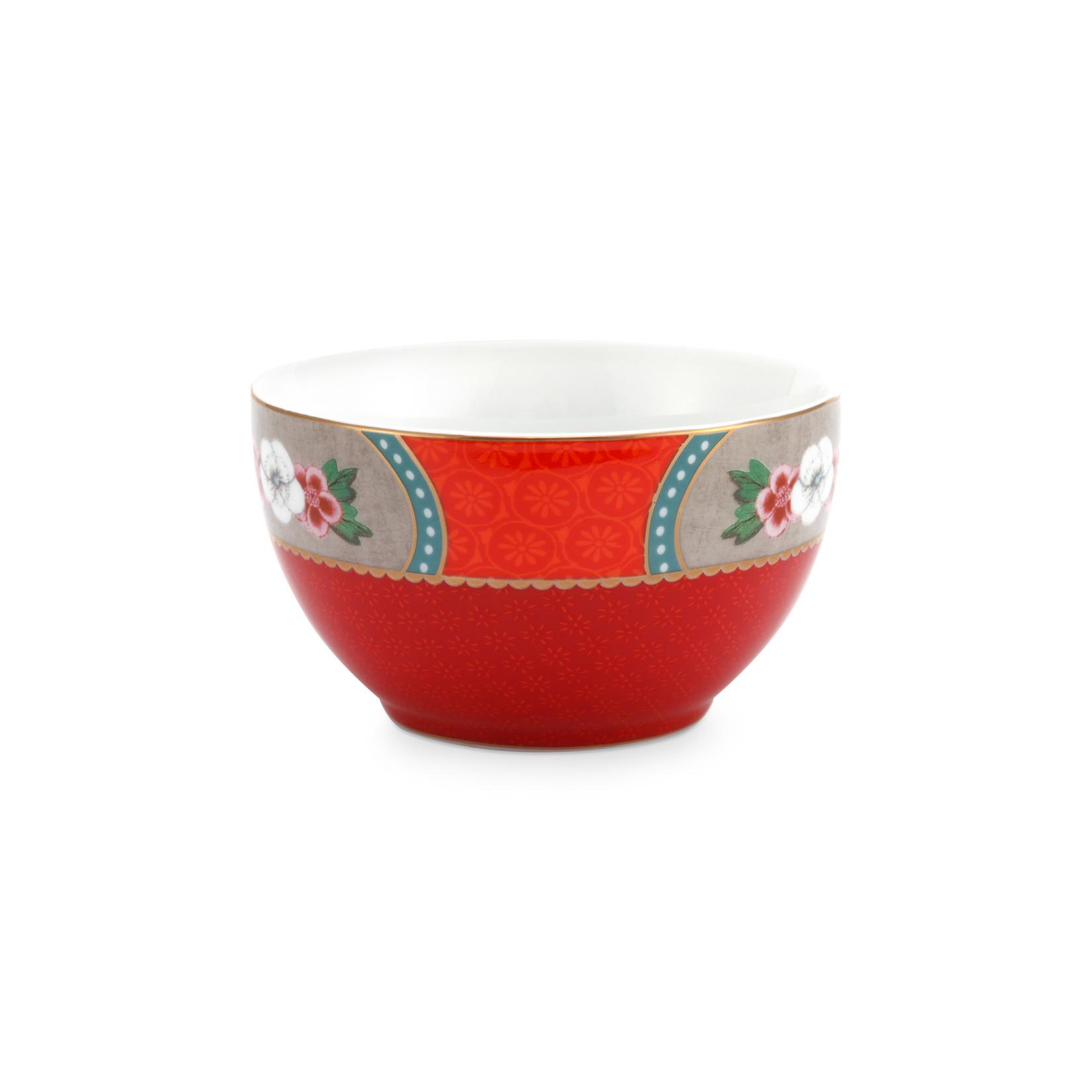 PIP Studio Bowl Blushing Birds Star Flower Red 9.5cm