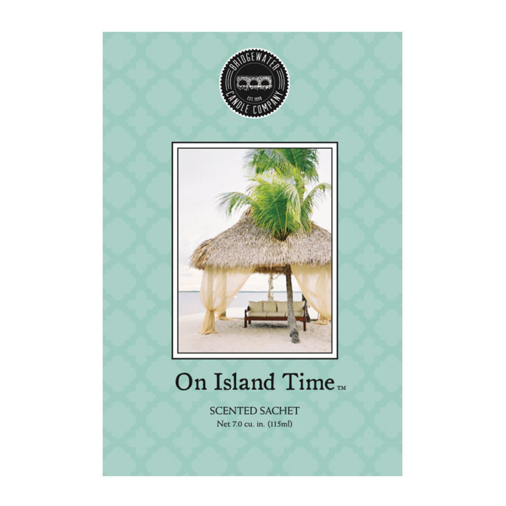 Bridgewater Scented Sachet / Geurzakje On Island Time