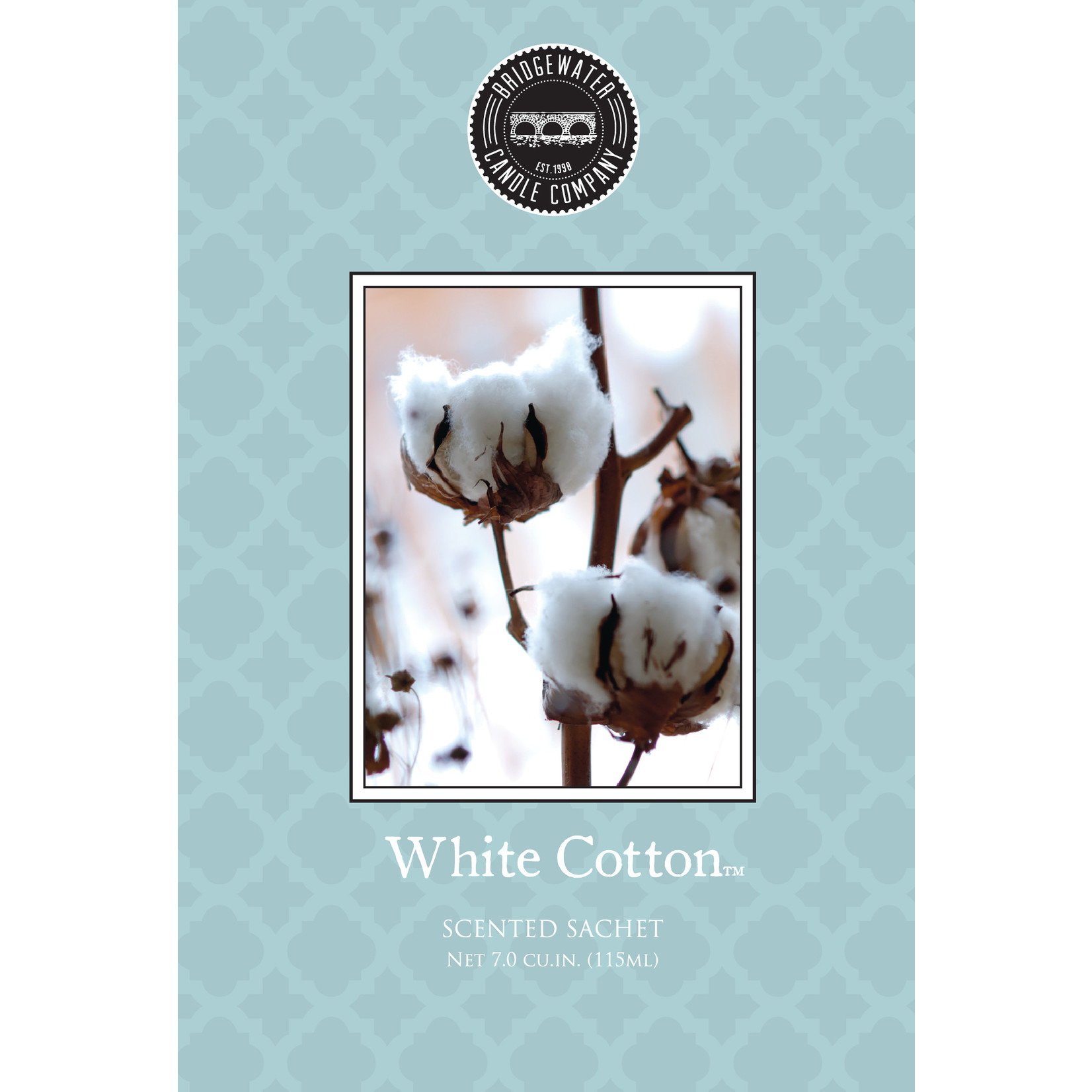 Bridgewater Scented Sachet / Geurzakje White Cotton