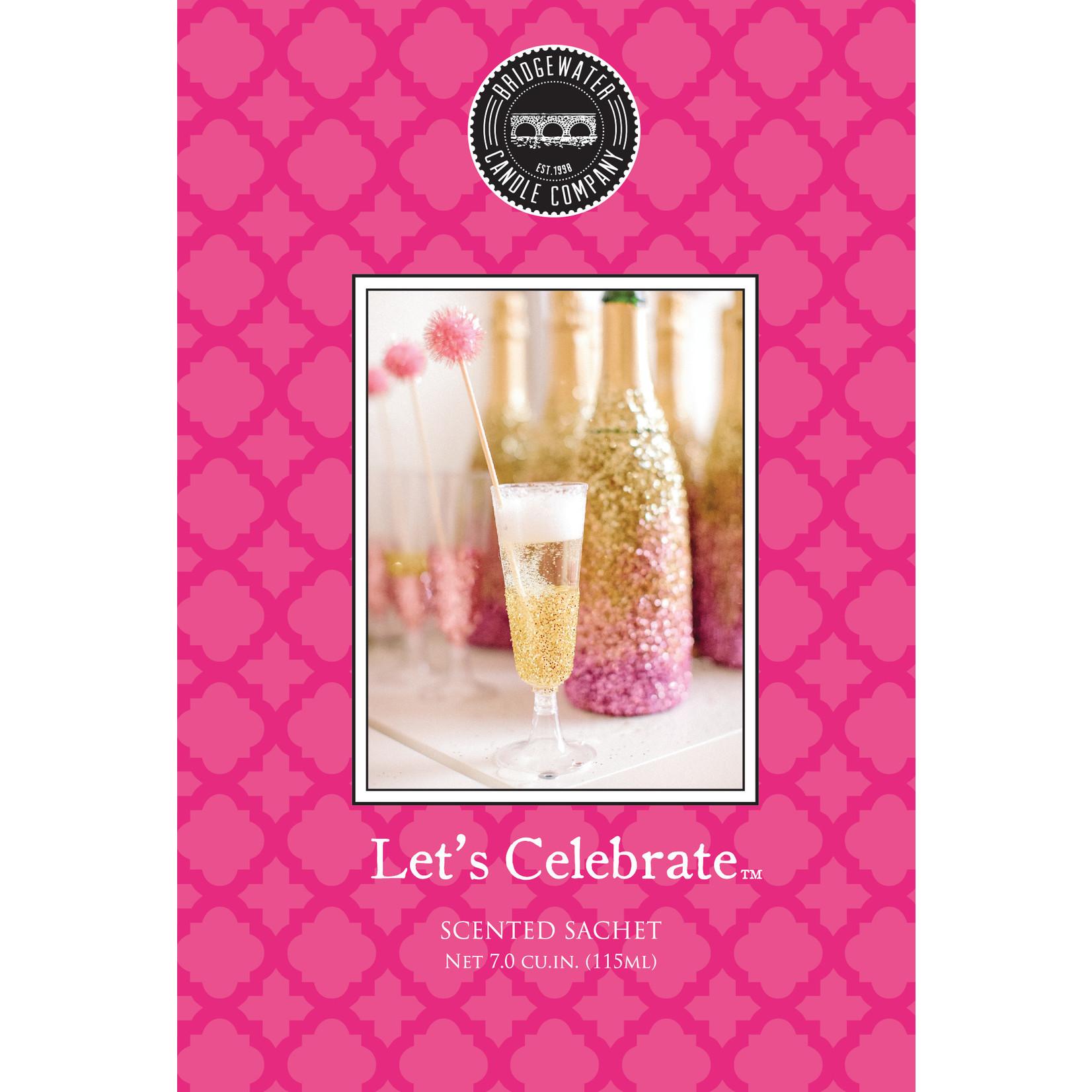 Bridgewater Scented Sachet / Geurzakje Let's Celebrate