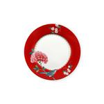 PIP Studio Plate / Ontbijtbord Blushing Birds Red 21cm